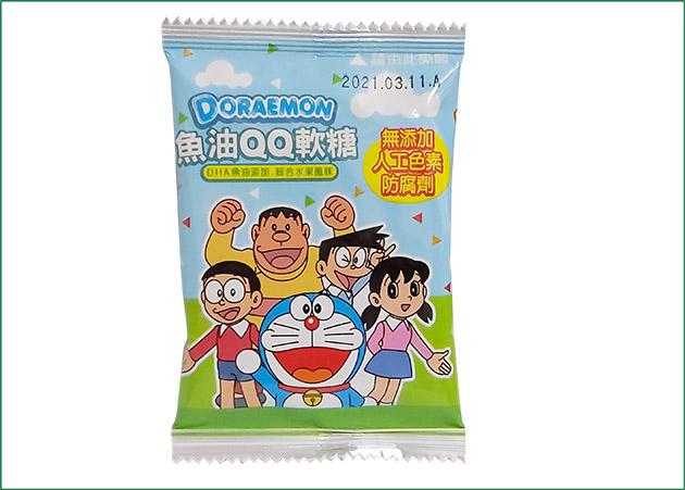 哆啦A夢 魚油QQ軟糖(4款顏色) 2