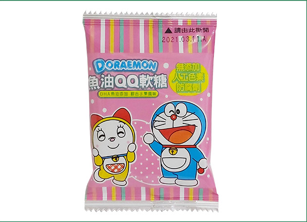 哆啦A夢 魚油QQ軟糖(4款顏色) 3